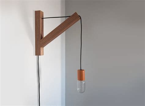 Wall Light With Cord Wall Lighting Better Living Through Design