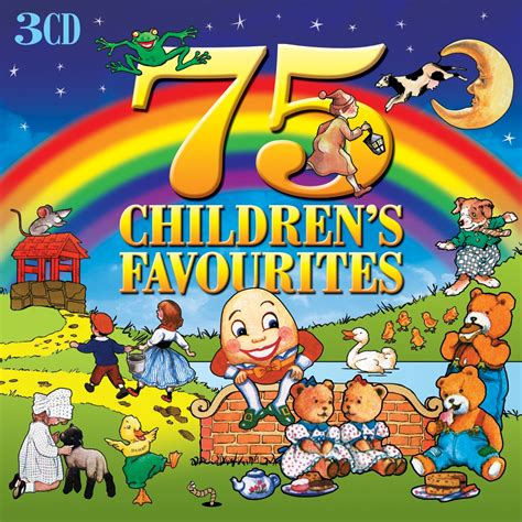 7 Great Cds For Children various artists 75 children s favourites not now