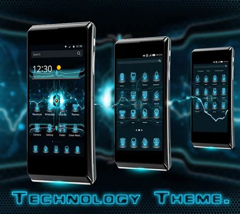 technology themes for android technology cm launcher theme android apps on google play