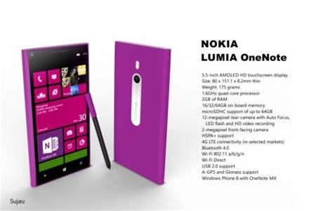 Nokia Lumia Onenote nokia lumia onenote 5 5 inch phablet has windows phone 8 with onenote mx concept phones