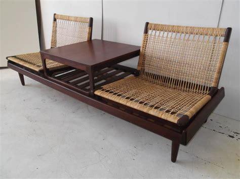 danish modern sofa bed hans olsen danish modern modular teak sofa bed at 1stdibs