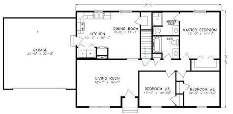 basic floor plan the brookside a no nonsense basic ranch lake city homes