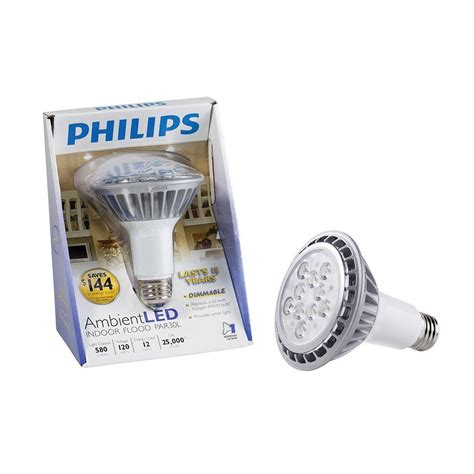 Lu Philips 12 Watt philips 12 watt 60w par30l led flood light bright white