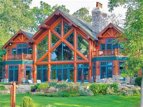 Lake Geneva Cabins by Fabulous Lake Geneva Lake Front Log Home Lodges Log