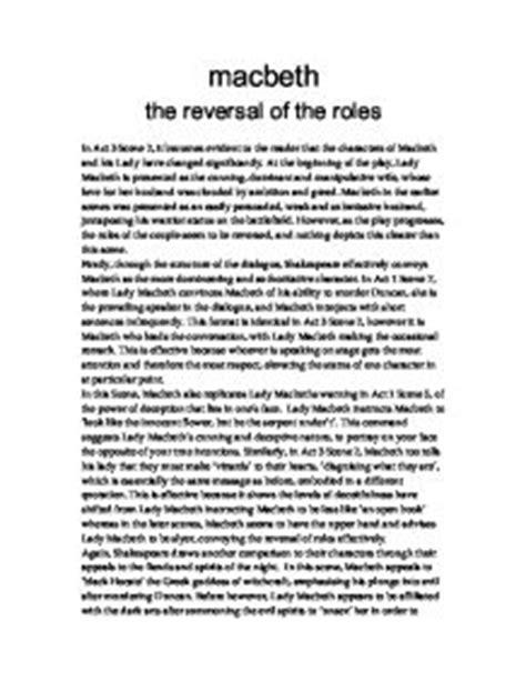 Character Analysis Of Macbeth Essay by Macbeth Analytical Essay Huntington Park Masculinity Essay