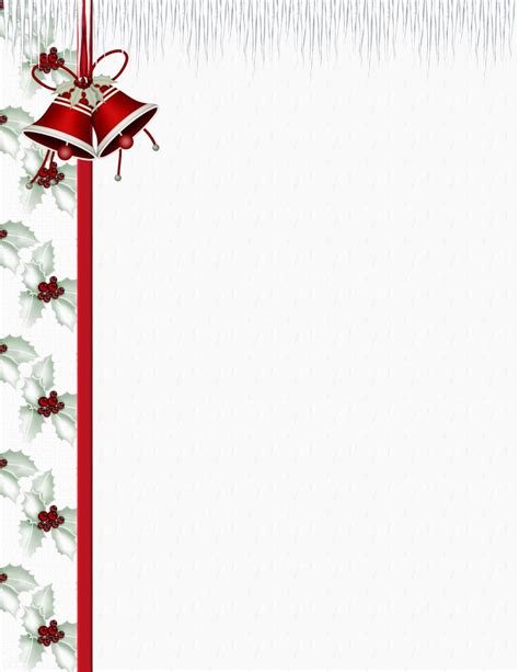 christmas stationery downloads christmas 3 free stationery template downloads
