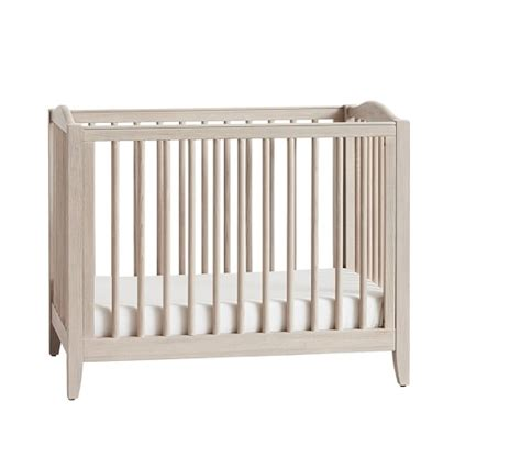cribs mattress emerson mini crib mattress set pottery barn