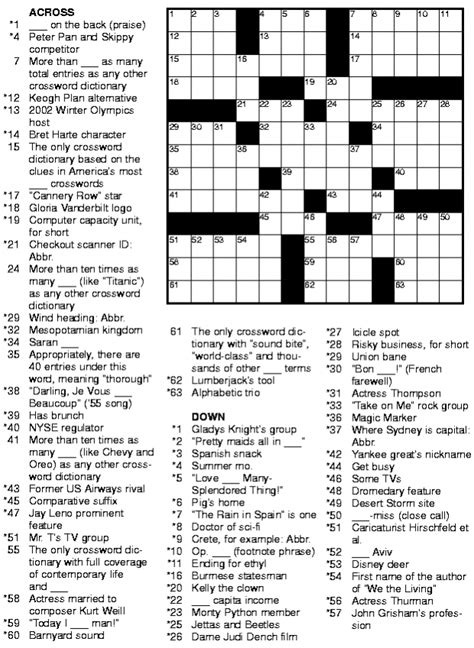usa today crossword help usa today printable crossword puzzles 6 photo beautiful