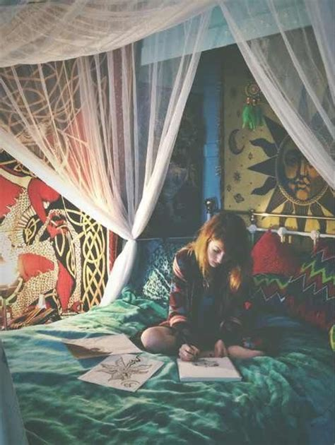 hippie teenage bedroom ideas 16 bedroom decorating idea with tapestries royal furnish