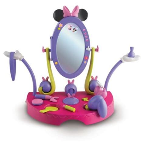 Minnie Mouse Bowtique Vanity Table disney minnie mouse bow tique minnies vanity table