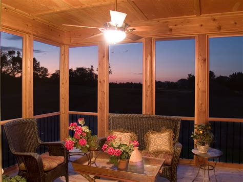 outdoor screen room with floor pearson craftsman home plan 013d 0179 house plans and more