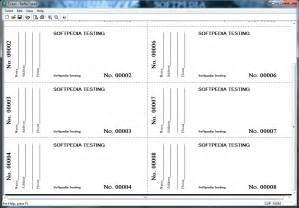 benefit ticket template benefit ticket template images