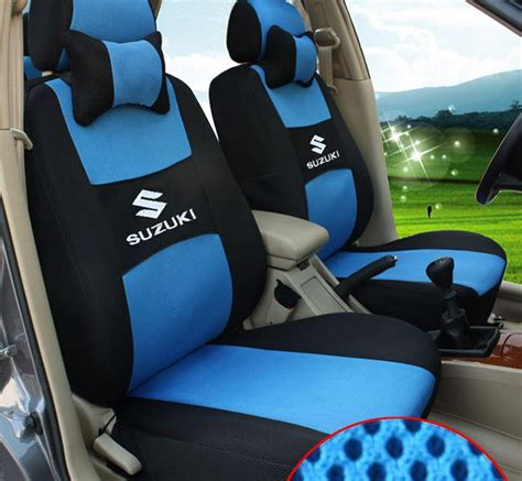Seat Covers For Suzuki Sx4 Blue Grey Color Car Seat Covers For Suzuki