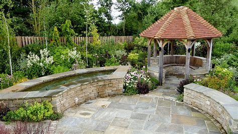 Wide Garden Design Garden Design Henley Water Gardens Patios And