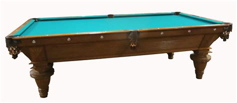 antique brunswick pool tables lot detail brunswick antique 1890 s pool table