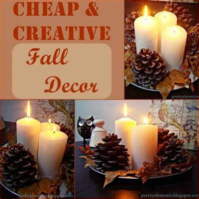 cheap fall decor cheap creative fall decor crafts and suggestions