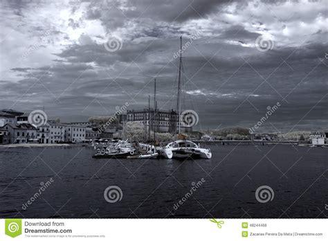barco pirata vila do conde puerto deportivo de vila do conde foto de archivo