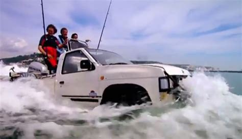 boat car top gear crossing the channel in car boats hq top gear