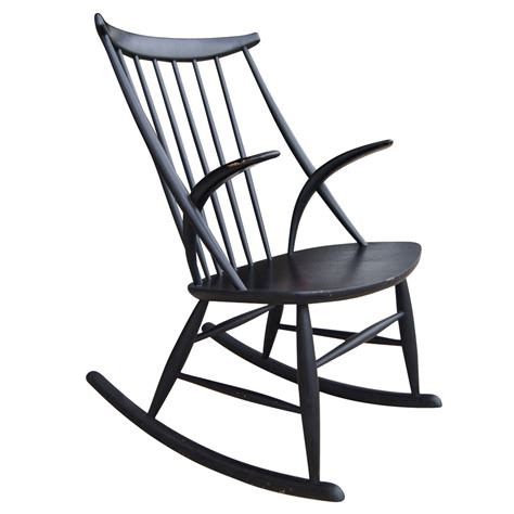 Retro Rocking Chair by Vintage Sculpture Rocking Chair By Illum Wikkelso Ebay
