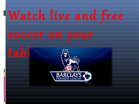 epl live streaming free premier league live stream