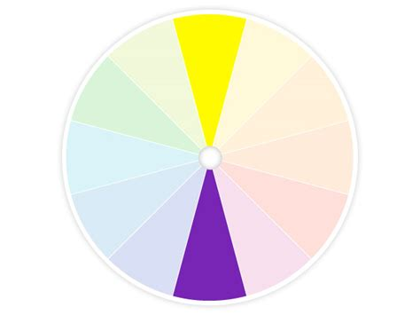 yellow complementary color bella storia color wheel friend or fo
