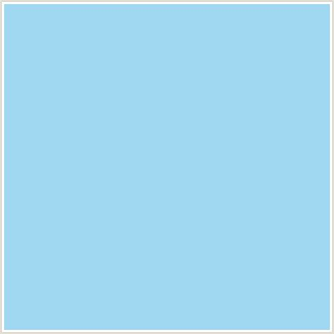 color baby blue a0d8f1 hex color rgb 160 216 241 baby blue