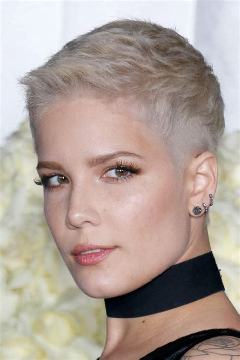 pixie haircuts on real women 266 best hair pixie buzz cuts short hair images on