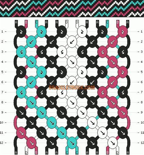 zigzag kumihimo pattern pinterest the world s catalog of ideas