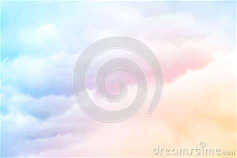 rainbow clouds stock photography image
