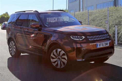 2018 land rover discovery black spied 2018 land rover discovery without camouflage