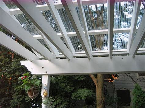 pergola plastic roof 1000 images about translucent roofing on