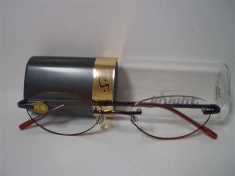 insight s edgeglow reading glasses 017 onyx 1 75 ebay