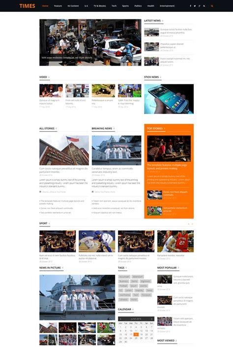 15 best blog magazine responsive joomla themes