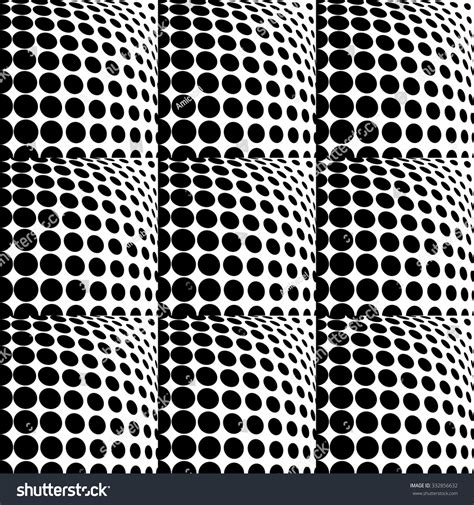 seamless geometric dots pattern stock vector art more design seamless monochrome dots background abstract