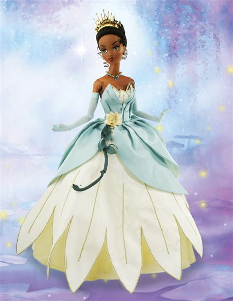 Princess tiana in her blue gown can be ordered at 1 800 634 5164 give