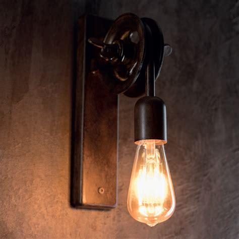 leuchten wandleuchten wandleuchte industriedesign in terra wohnlicht