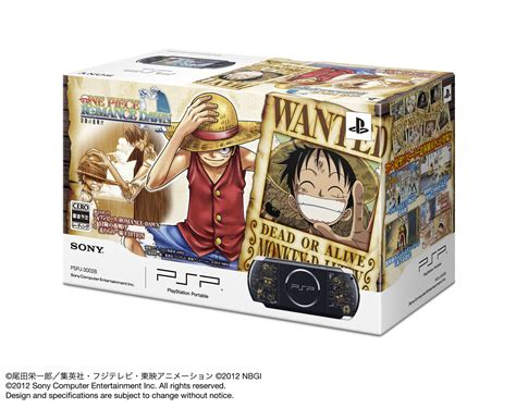 themes ps4 one piece one piece japanese psp bundle announced gematsu