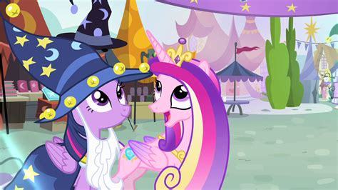 Princess Cadence images Cadance and Twilight HD wallpaper