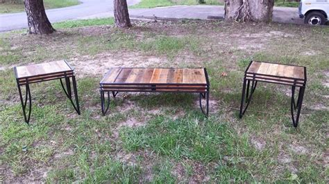 Pallet Table Top by Tables With Pallet Wood Tops Pallet Ideas Recycled