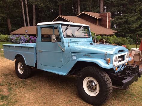 land cruiser pickup top condition toyota land cruiser fj45 pickup waiting for