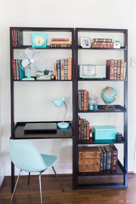Remodelaholic Build Wall Built Desk Bookcase Cabinet Small Desk Bookshelf