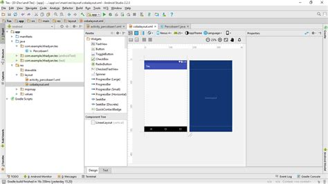 android layout xml glsurfaceview mengatur posisi widget pada layout xml android studio