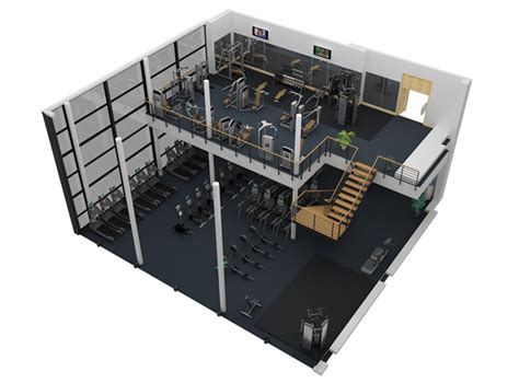 gym layout exles sle fitness facility 10 cybex