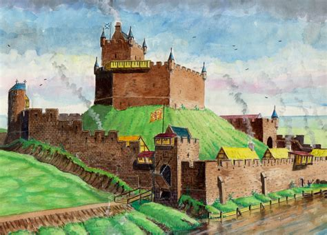 Home Colour by Reconstruction Of Inverness Castle 1500