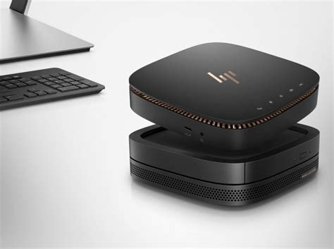 Hp Elite Slice hp announces elite slice a new modular pc with snap on