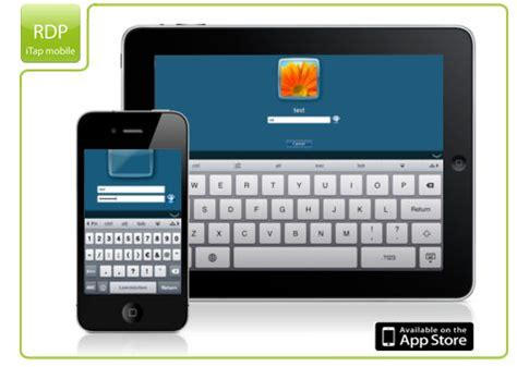manage your windows desktop from your ipad, iphone or ipod