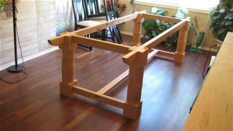 how to build a trestle table trestle table how to build this one page 2
