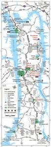kentucky map lakes land between the lakes map 1 ky hiking and cing