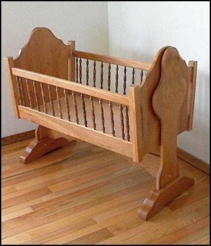 baby cradle plans easy diy woodworking projects step
