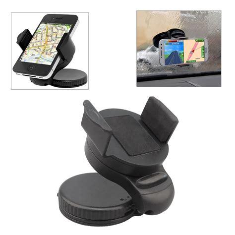 2 In 1 Car Universal Holder Mobil Ac Dan Kaca A902 universal car windscreen suction cup mount holder cradle
